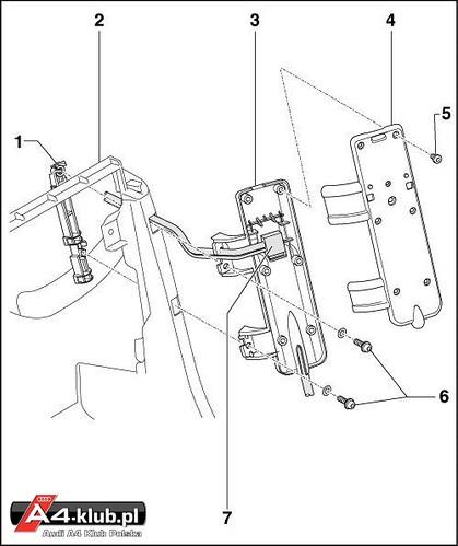 70944 - Instalacja przełącznika deaktywacji poduszki pasażera AIR BAG OFF - 20