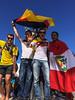 Fan Feier WM 2014 Brasilien