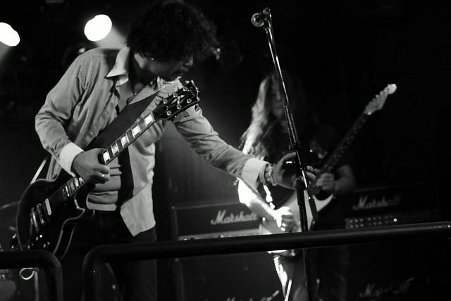 THE NICE live at Outbreak, Tokyo, 29 Sep 2015 - jam with Takayuki O.E. 425