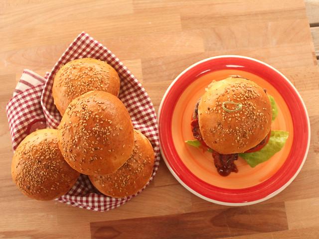 Pane per Hamburger Bimby