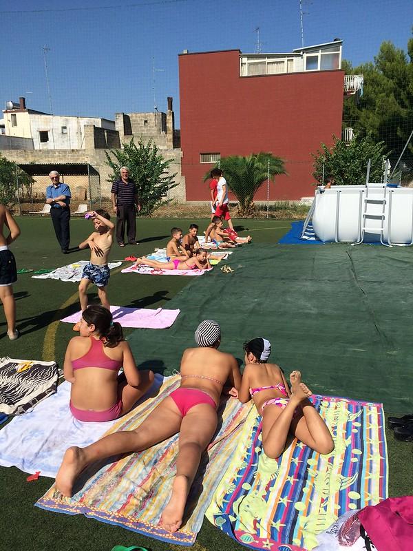 Casamassima-I ragazzi del Semiconvitto Pia Domuns Cristo Re raccontano la gioia per la nuova piscina (5)