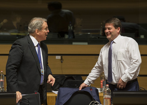 Minister Dara Murphy attends attends EU's Justice and Home Affairs Council (8th & 9th October)