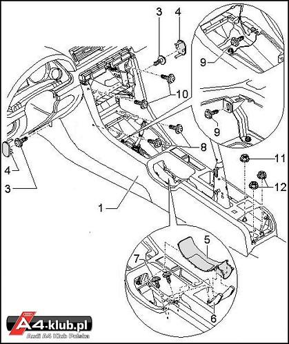 70944 - Instalacja przełącznika deaktywacji poduszki pasażera AIR BAG OFF - 21