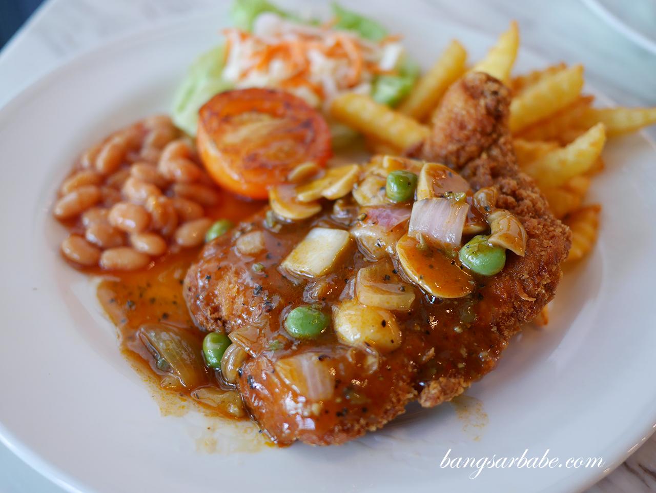 Hainanese Chicken Chop (2)