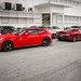 Ferrari and 3 shades of Rosso by ///r3