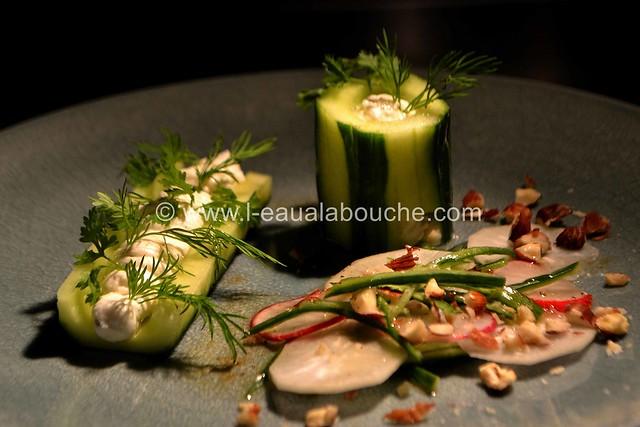 Concombre au Chèvre Frais & aux Herbes © Ana Luthi Tous droits réservés 0030