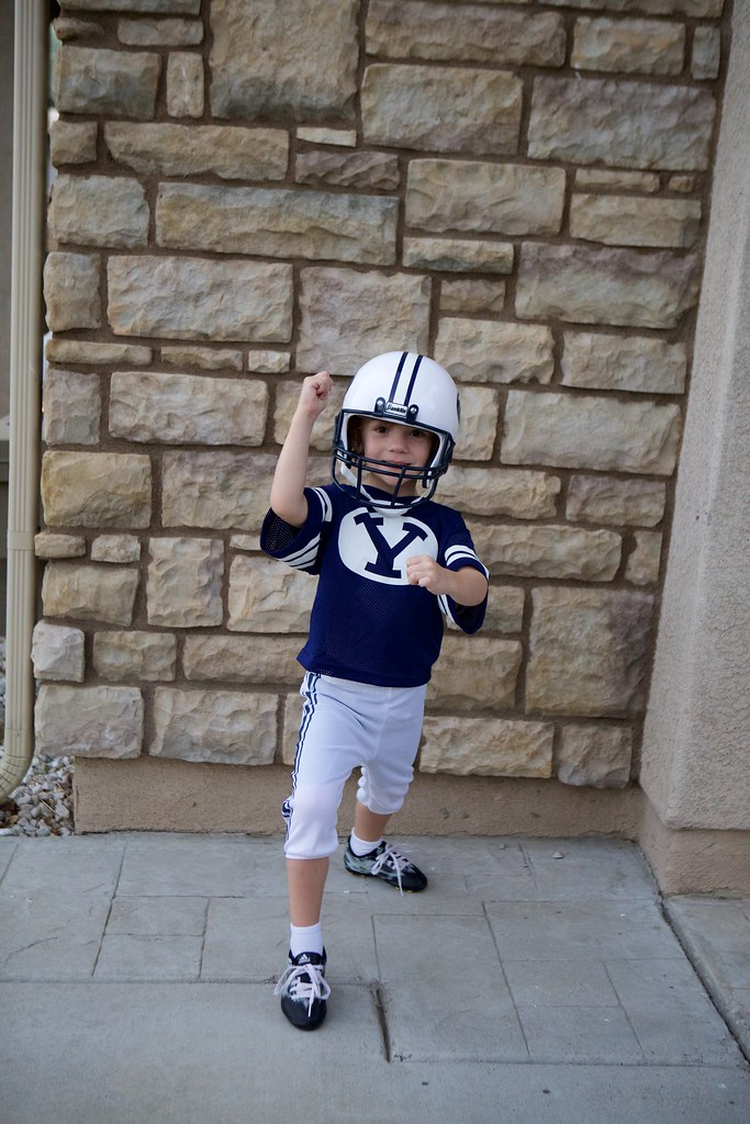 BYU Fottball Costume