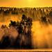 Sonnenaufgang im Harz bei Hohegeiss