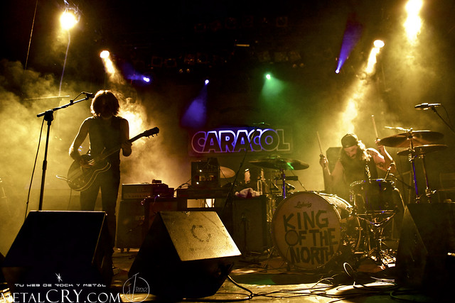 KING OF THE NORTH @ Sala Caracol, Madrid