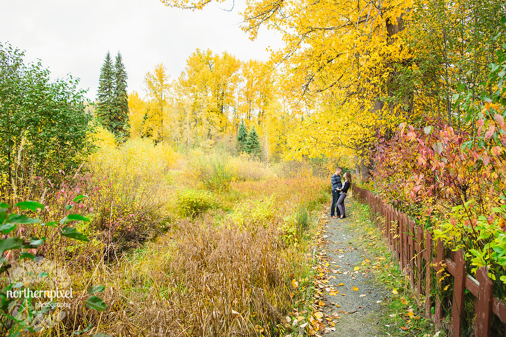 Fall Engagement Session at Huble Homestead