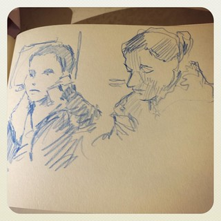 #train #urbansketch #colerase