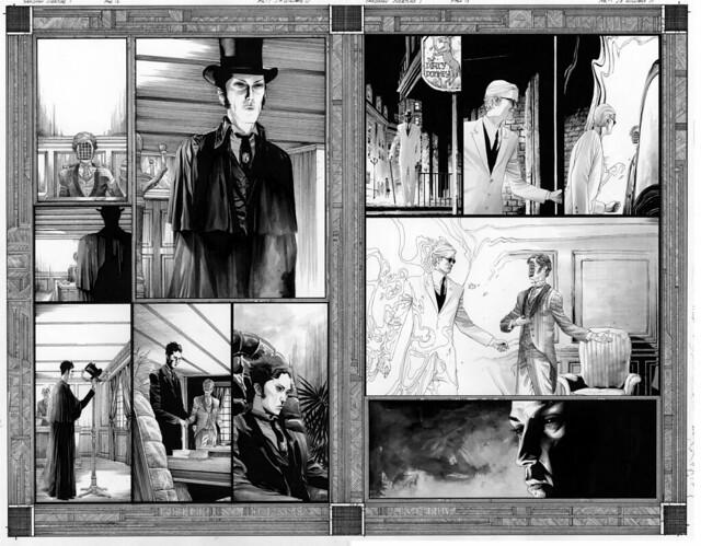 Sandman Overture 1 pg 12 and 13