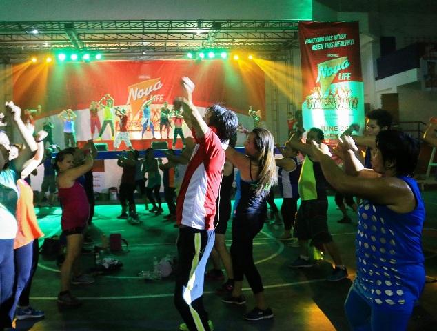 Nova Life Fitness Party