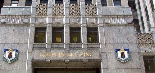 Koppers Building Entrance