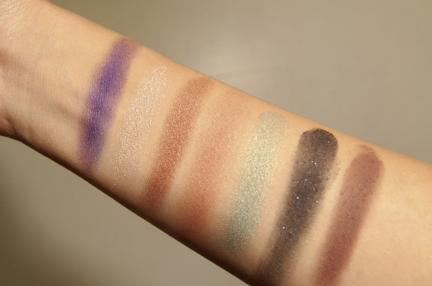 anastasia beverly hills self made swatches