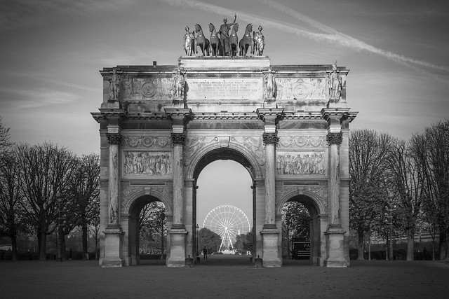 Jardin des Tuileries - Automne 2015