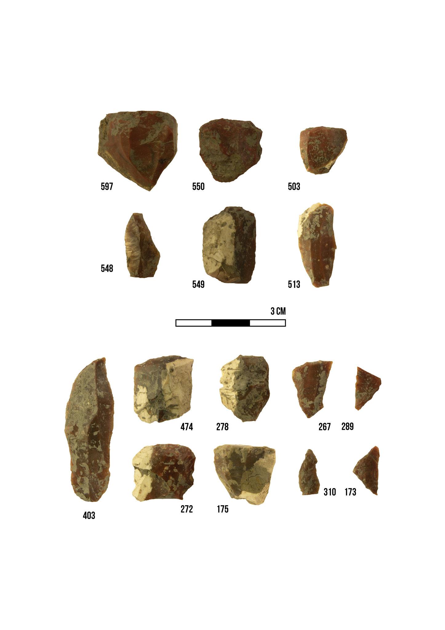 Páli mezolitikum epipaleolitikum ábra