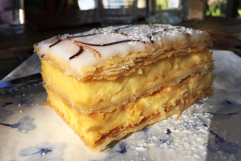 Vanilla slice, Middle Head Cafe