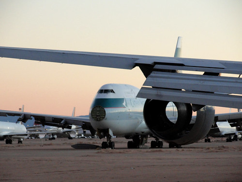 sunset abandoned apple death jets valley magichour airliners victorville barstow