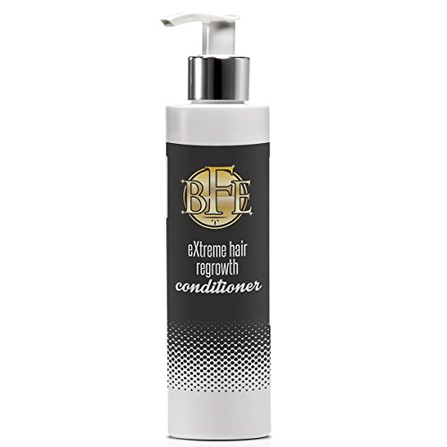 Hair Regrowth Conditioner-Nourishing Conditioner that strengthens the follicle roots to prevent breakage and builds fullness for both men and women with no side effects. Contains Acetyl Tetrapeptide-3, and Red Clover extract rich in Biochanin A. Promotes