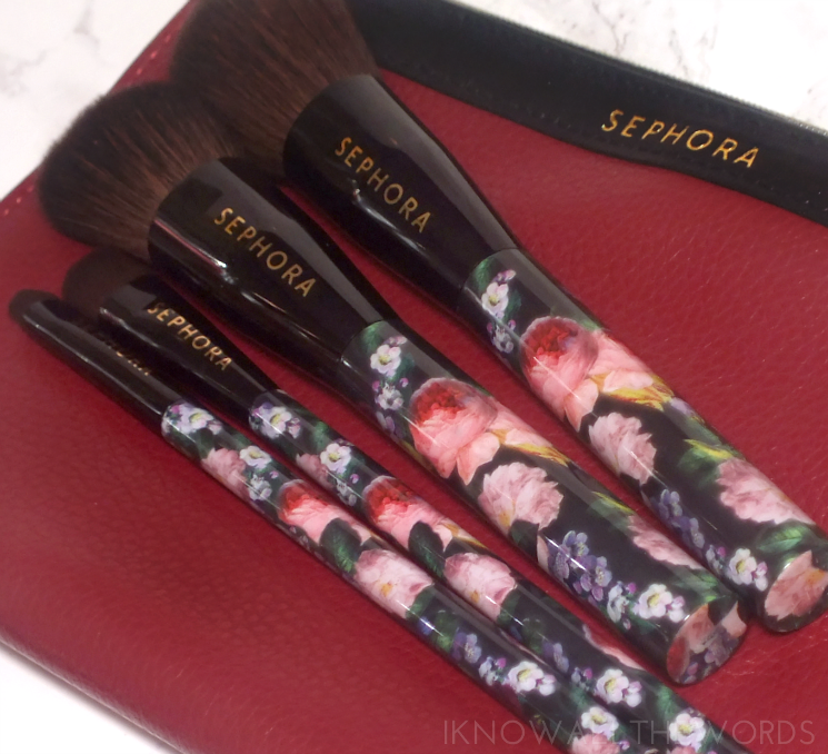 sephora collection gold edged brush set (1)