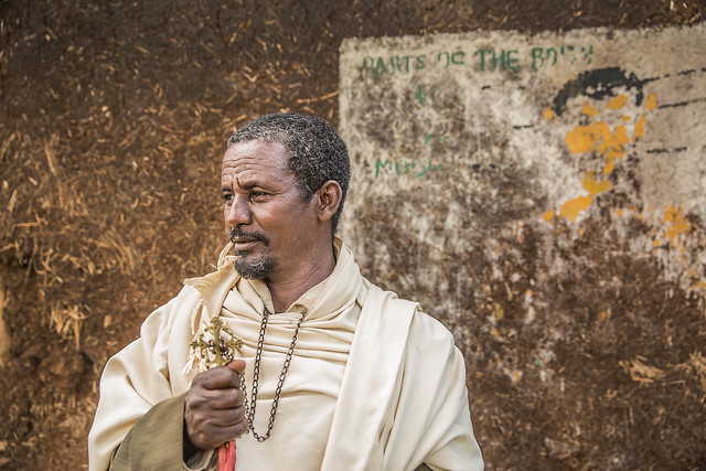Preist Degu Eniyew, 50 lives at Dangla Woreda, Badani Kebele, Awi Zone, Amhara Region. He says he values the education of girls after seeing how they can economically improve their own lifestyle as well as their family's, after finishing school.
