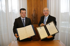 Israel signs the Convetion on Mutual Administrative Assistance in Tax Assistance