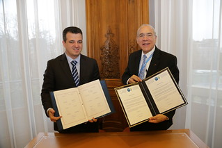 Israel signs the Convention on Mutual Administrative Assistance in Tax Matters