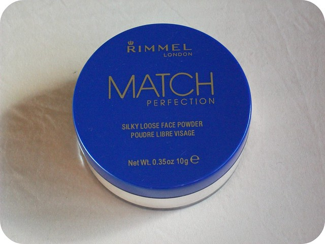 Rimmel Match Perfection Silky Loose Face Powder Review
