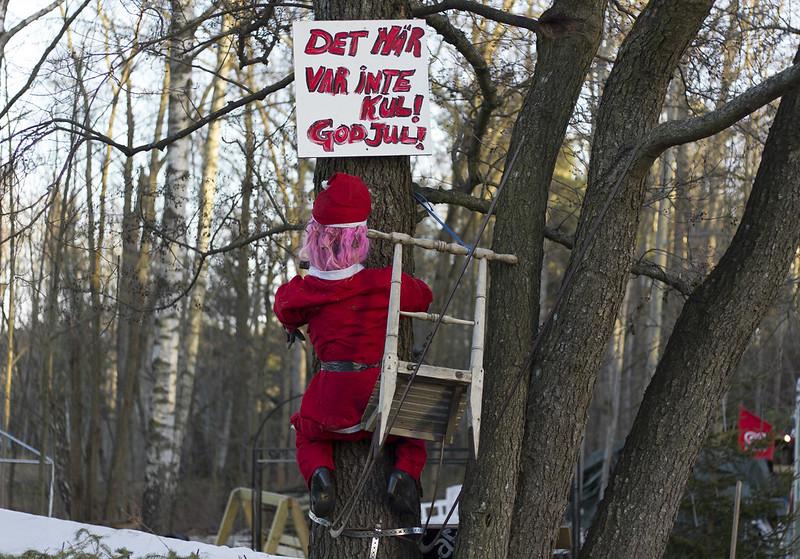 Santa's Accident