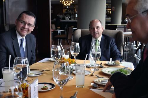 Fernando Gaveglio, socio de la Price, en el CBC