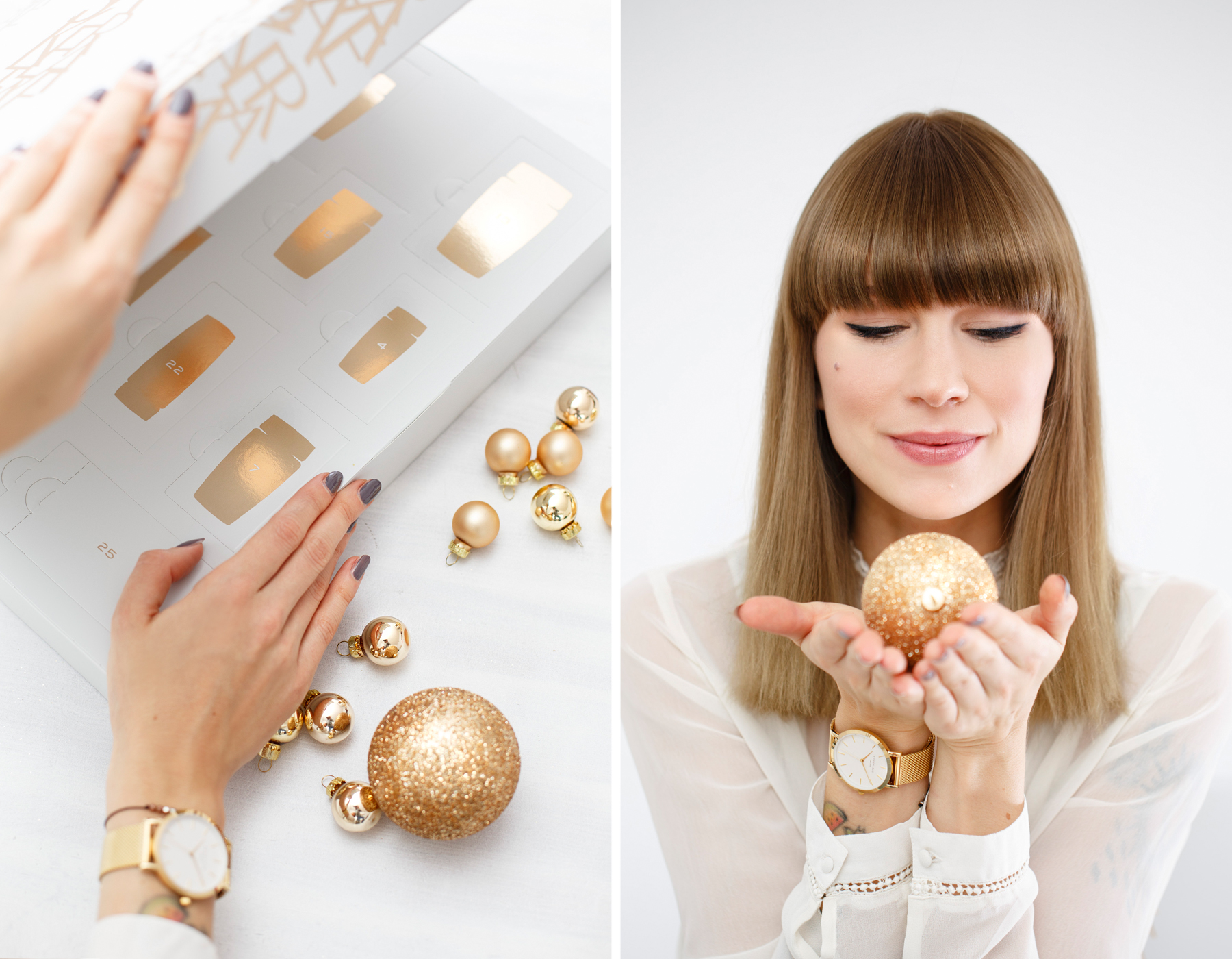 kérastase adventskalender advent calendar golden christmas shiny luxury hair care haircare beautyblogger white christmas winter look beautiful glamorous geschenk gift cats & dogs fashionblog ricarda schernus beauty blogger 6