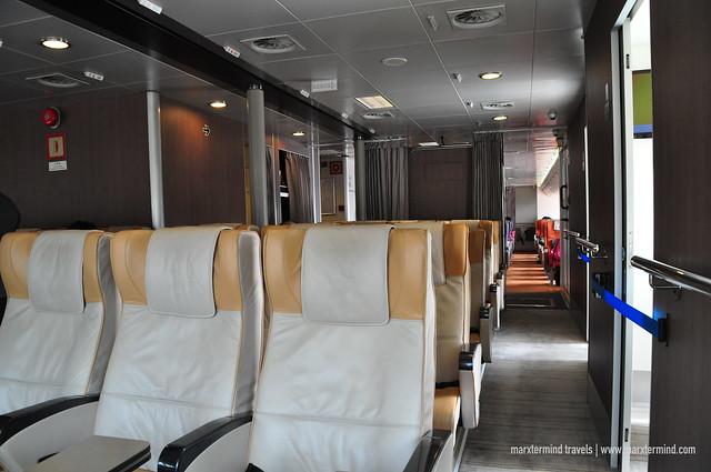 Premier Grand Class Comfortable Seats