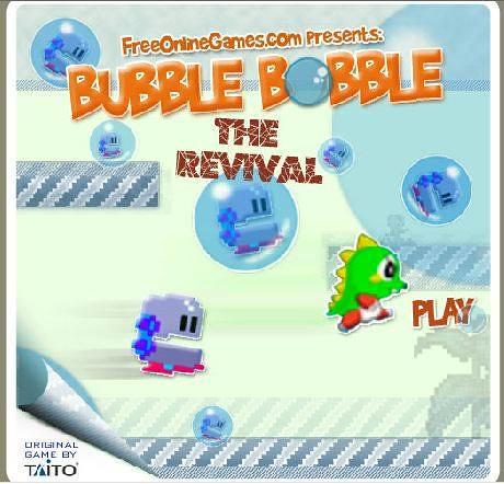 actualit du jeux vid o jeux vid o flash gratuit bubble bobble revival. Black Bedroom Furniture Sets. Home Design Ideas