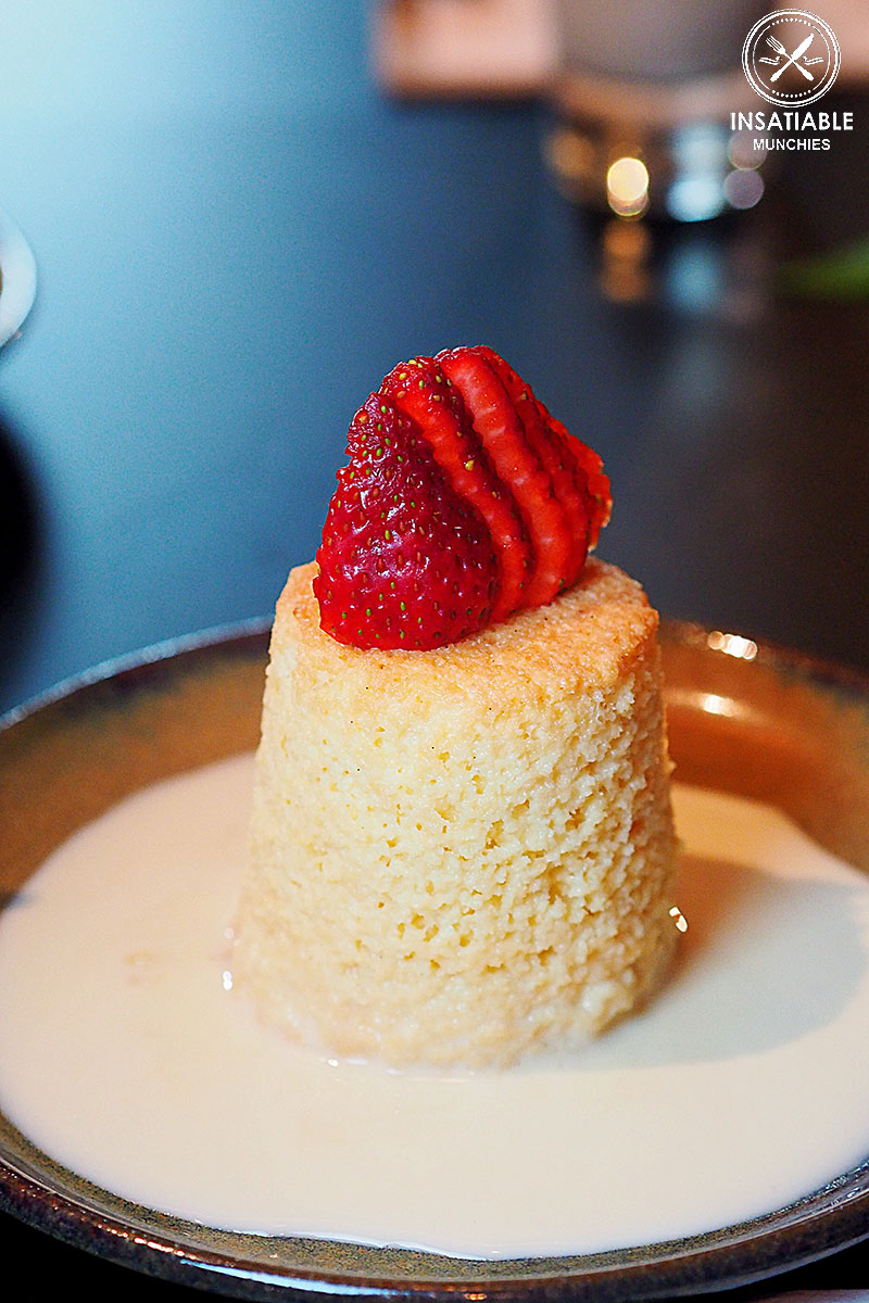 Tres leeches cake: La Puerta, Neutral Bay. Sydney Food Blog Restaurant Review