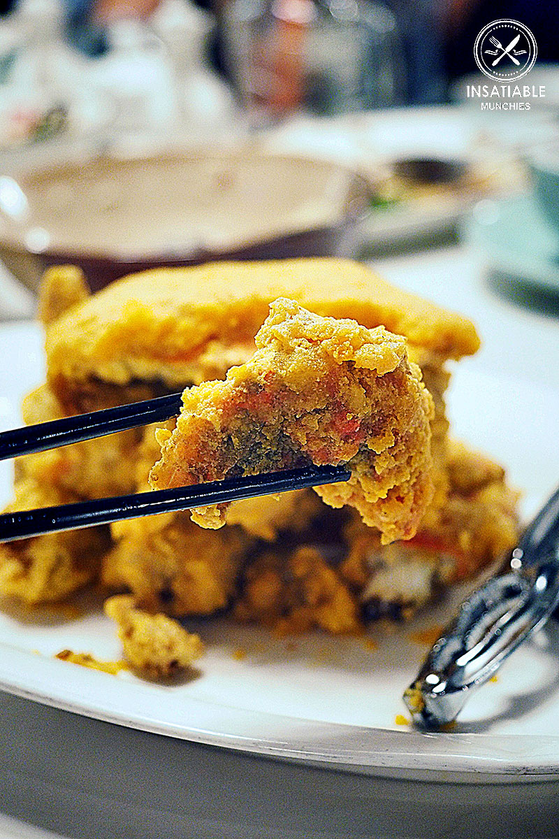 Mud Crab with Salted Egg Yolk, Taste of Shanghai, World Square. Sydney Food Blog Review