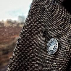 Tar med Lunds snyggaste pin till Stockholm! #af #studentlund #pin