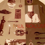 Tallrik Paul Bocuse Restaurant, Lyon