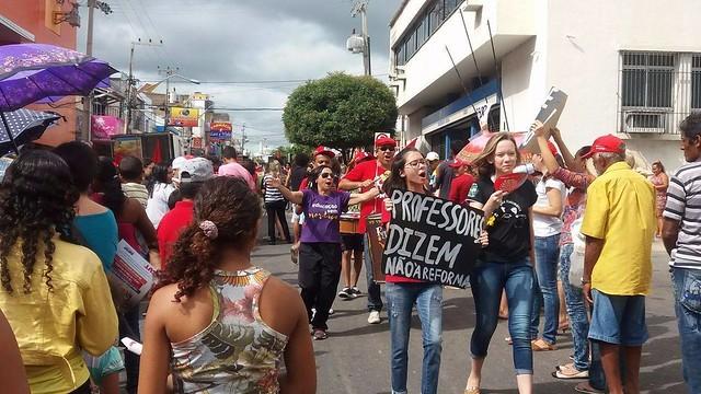 CNTE chama população a apoiar a paralisação contra a Reforma da Previdência