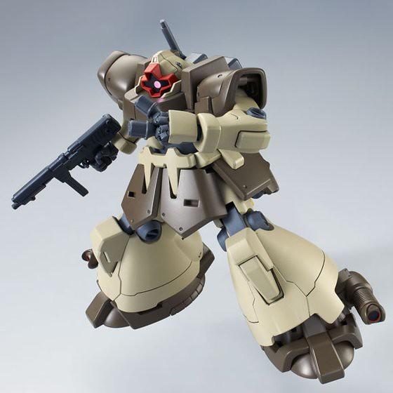 HGUC 《機動戰士鋼彈UC》德姆熱帶型 (獨角獸動畫版本)1/144比例組裝模型 ドム・トローペン(ユニコーンVer.)