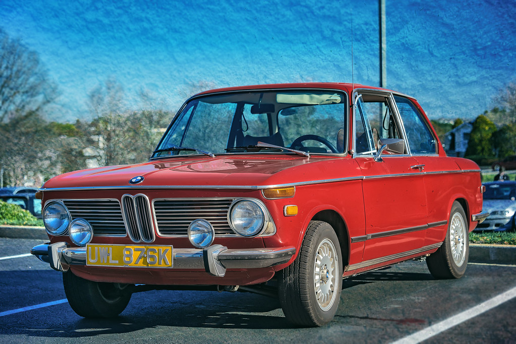 BMW 2002 tii (Cars & Coffee of the Upstate)