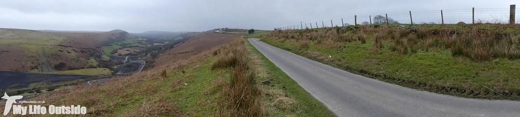 P1060842 - Route of the proposed Mynydd y Gwair wind farm access track