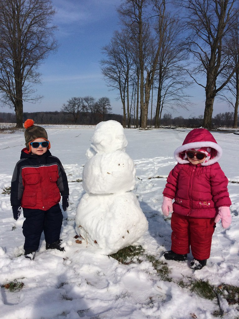 Jepson and Bella's Snowman