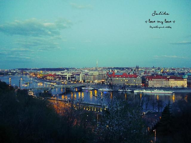Hanavsky Pavilon布拉格超美夜景餐廳推薦 (1)