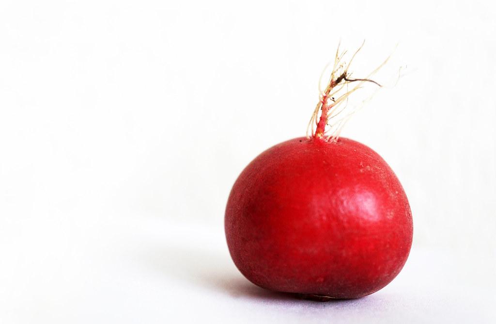 one radish