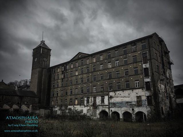 John Horsfall Mill #westvale #greetland #halifax #calderdale #urban #industrial #iphone6s #iphoneography #iphonepicoftheday #derelict #derelictengland