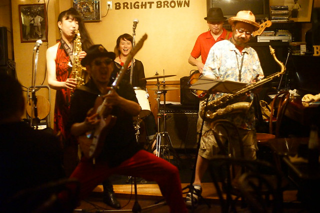Blues live at Bright Brown, Tokyo, 16 Aug 2015. 325