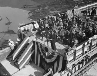Opening of Diablo Dam, 1930