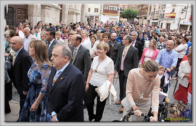 Briviesca en Fiestas 2.015 Procesión del Rosario y canto popular de la Salve (11)