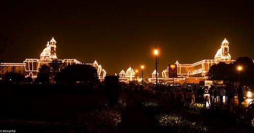 Raisina Hill   New Delhi   Independence Day Eve